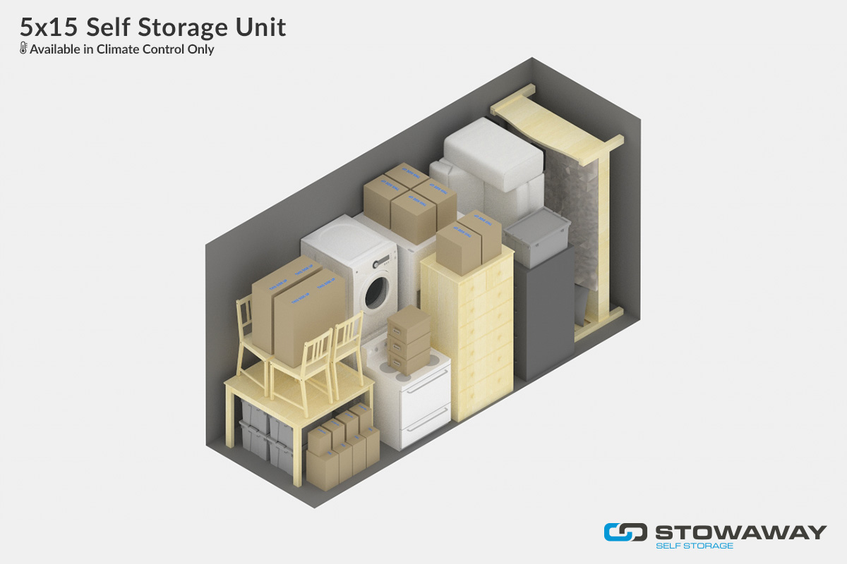 At Stowaway, We Stress The Importance Of Finding The Storage Size That Best  Suits Your Needs And Your Budget. You Can Start With Our Handy ...